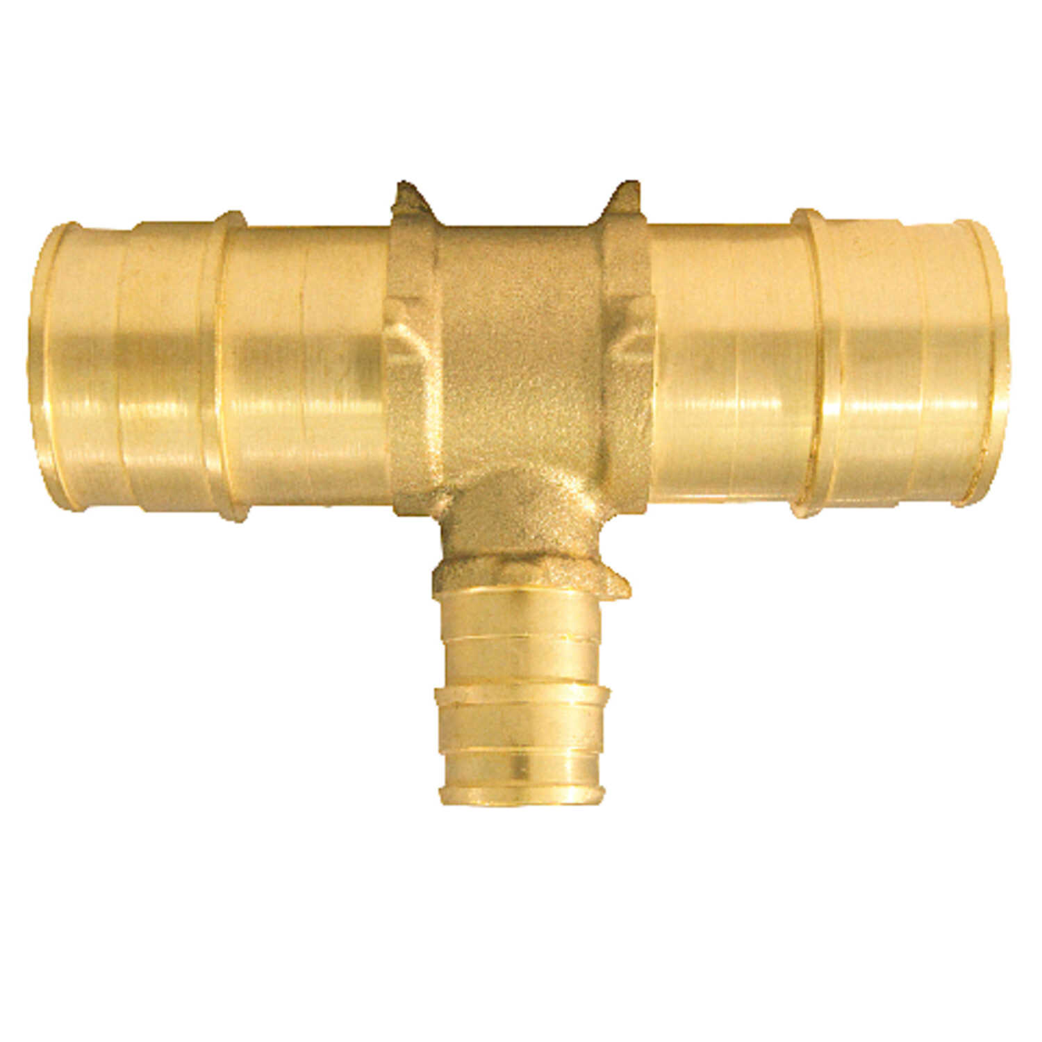 Apollo  PEX / Pex A  1 in. 1 in. Dia. x PEX Barb   PEX  Tee  Brass