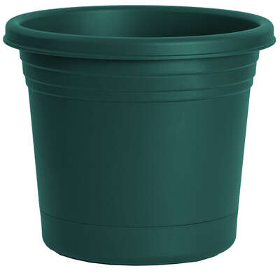 Rugg  Polyresin  Planter  Green