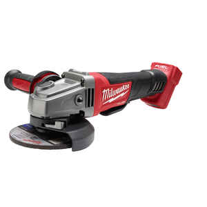 Milwaukee  M18 FUEL  4-1/2 to 5 in. Cordless  Brushless Straight Handle  Angle Grinder  8500 rpm 18