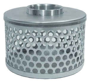 Abbott Rubber  2 in. Galvanized  Steel  Dome Strainer