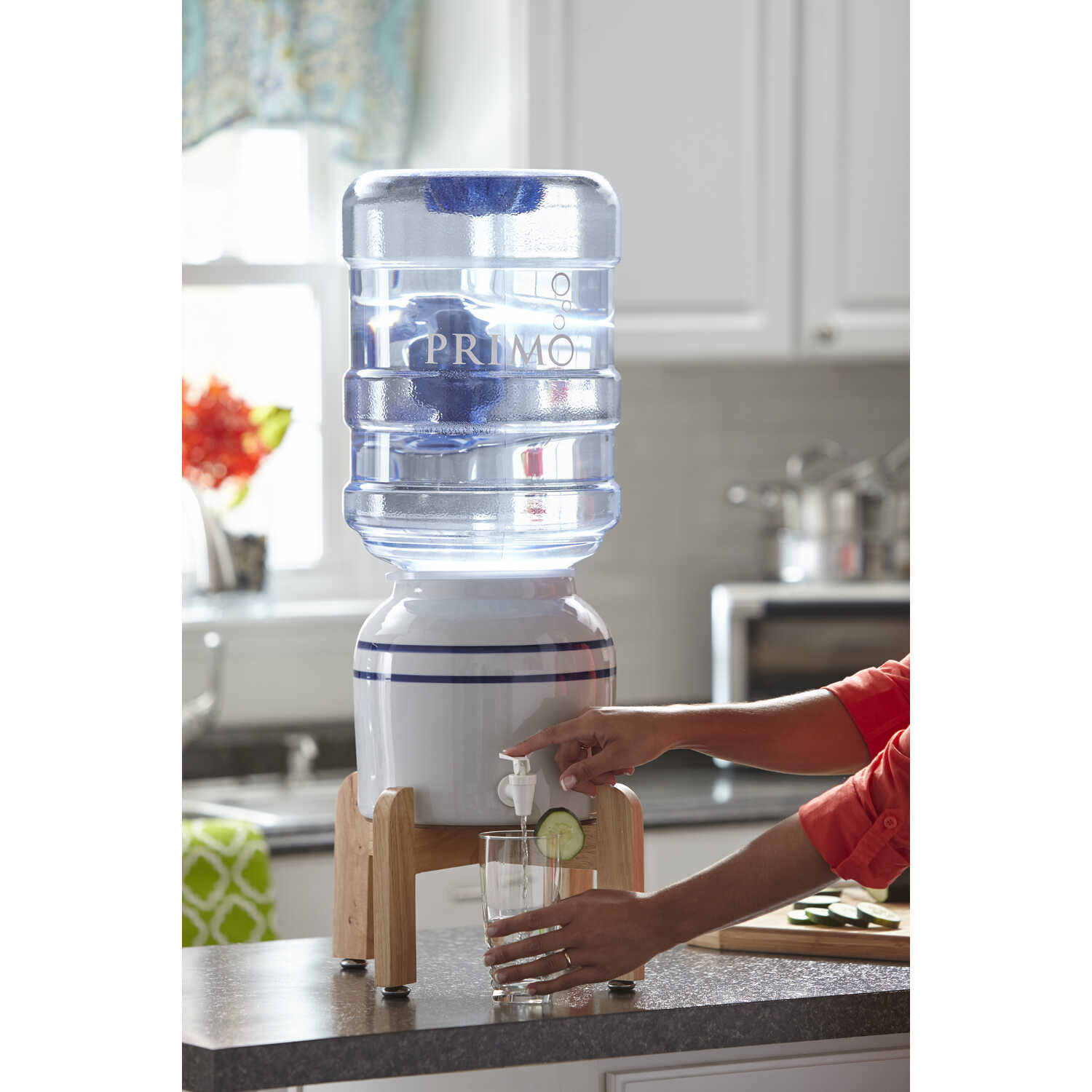 Primo Water  Cream  Water Dispenser  Porcelain
