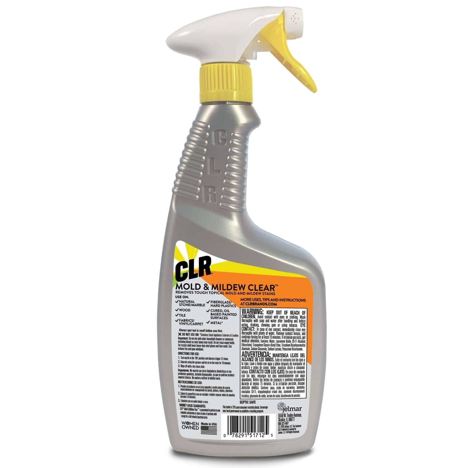CLR  Mold and Mildew Stain Remover  32 ounce