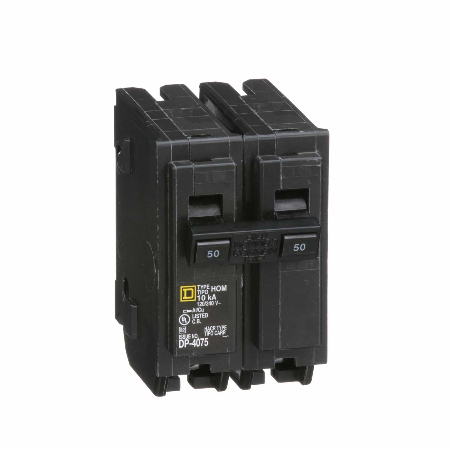 Square D HomeLine 50 amps Plug In 2-Pole Circuit Breaker - Ace Hardware