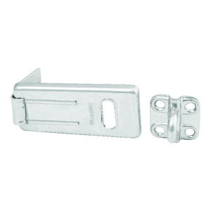 Master Lock  Zinc-Plated  Hardened Steel  2-1/2 in. L Hasp
