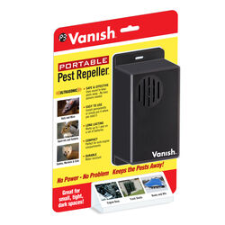 Vanish Portable Battery-Powered Electronic Pest Repeller For Outdoor Pests
