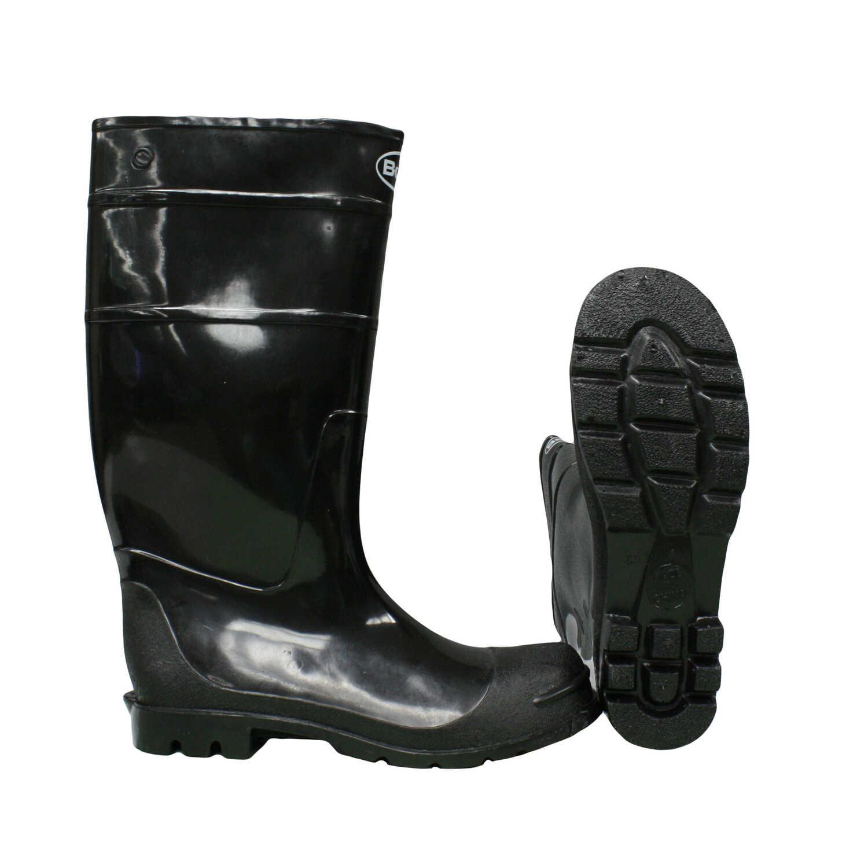 Boss Black PVC Rain Boots - Ace Hardware