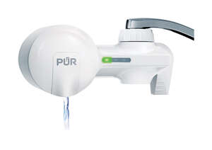 PUR  Maxion  Horizontal Faucet Mount Filter  100 gal. For Faucets
