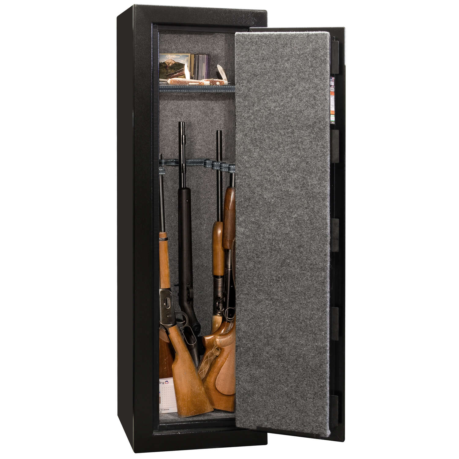 Liberty Safe  6.4 cu. ft. 12 Gun Capacity Combination Lock  Black  Gun Safe