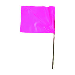 C.H. Hanson  21 in. Pink  Marking Flags  Polyvinyl  100 pk