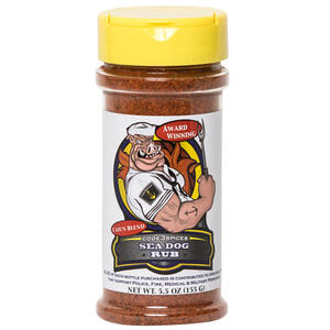 Code 3 Spices  Sea Dog Rub  Cajun Blend  BBQ Seasoning  5.5 oz.