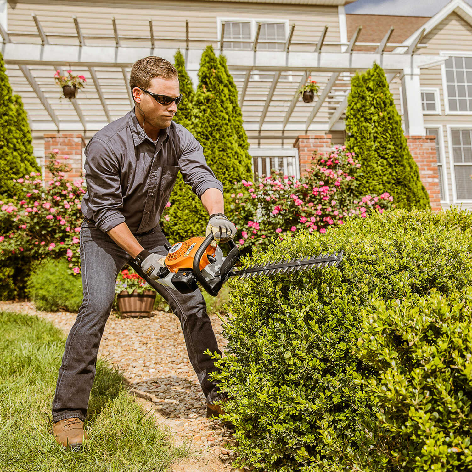 STIHL 18 in  Gas Hedge Trimmer HS 45 - Ace Hardware