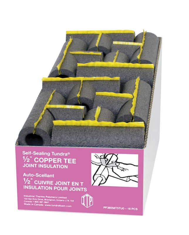 ITP  1/2 in. Pipe Insulation  9.5 in. L