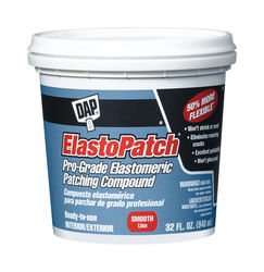 Dap  ElastoPatch  Ready to Use White  Elastomeric Patching Compound  32 oz.