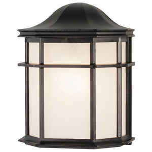 Westinghouse  Textured  Black  Switch  Incandescent  Wall Lantern