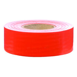 C.H. Hanson  300 ft. L x 1.2 in. W Plastic  Flagging Tape  Orange