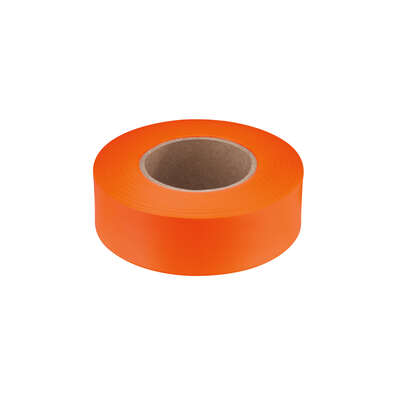 Empire 200 ft. L x 1 in. W Plastic Flagging Tape Orange