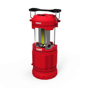 Nebo  Poppy  Red  LED  Pop Up Lantern
