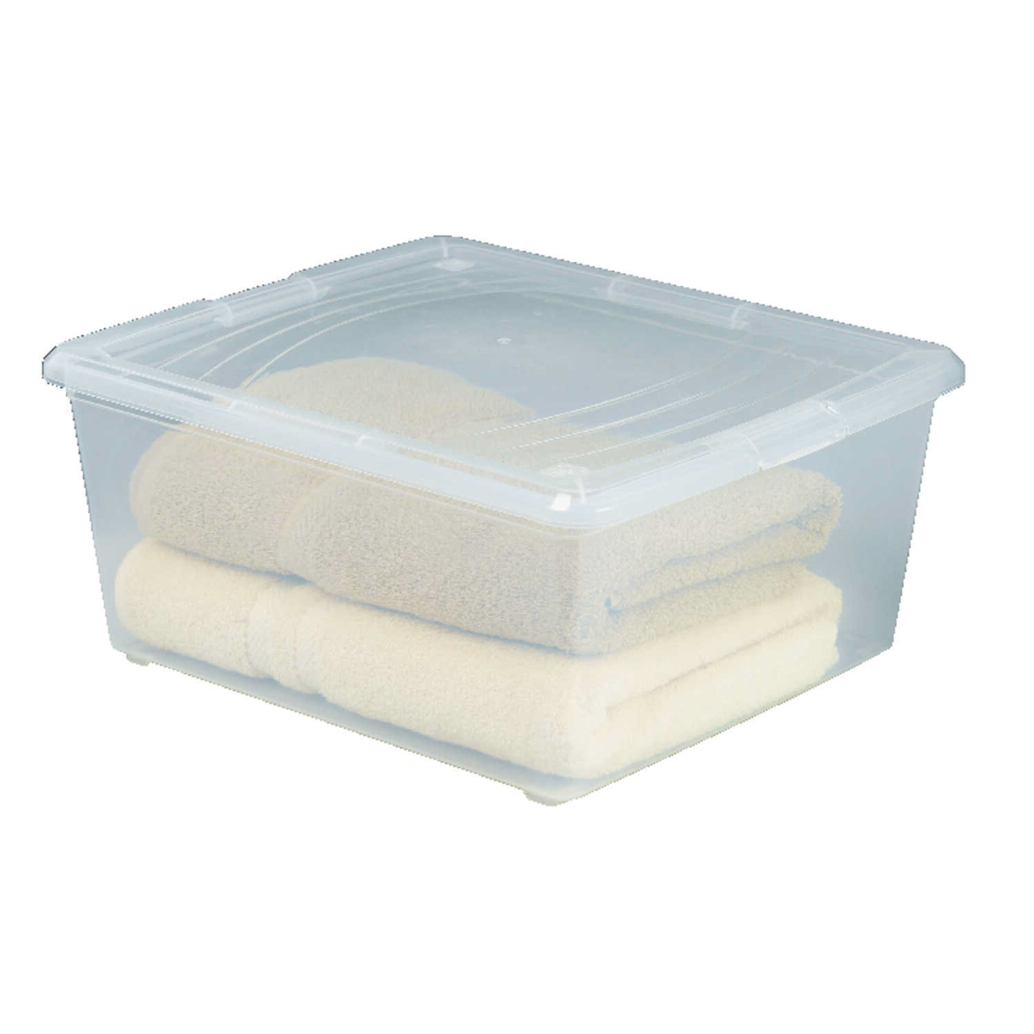 Iris  Modular  7.1 in. H x 13.75 in. W x 16.18 in. D Stackable Storage Box
