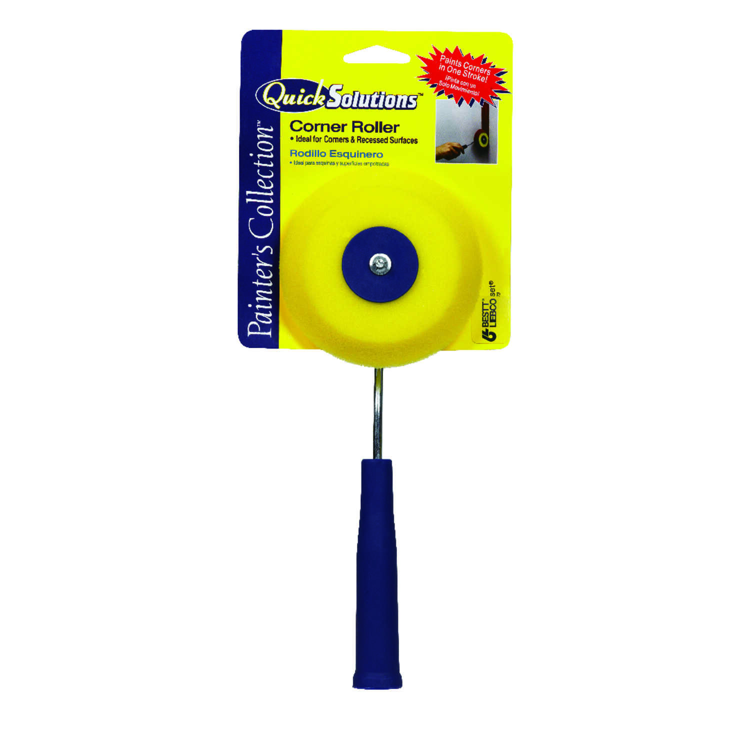 Purdy  Quick Solutions  4 in. W Mini Jumbo  Corner Roller