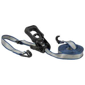 Keeper  1.25 in. W x 14 ft. L Gray  Tie Down Strap  1000 lb. 1 pk