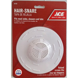 Ace Hair Snare 5 in. Dia. Plastic Sink Strainer