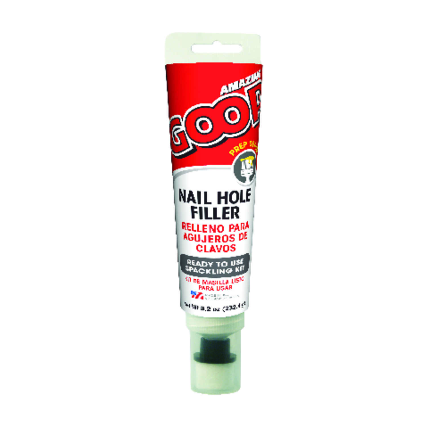Amazing Goop  Ready to Use White  Nail Hole Filler  8.2 oz.