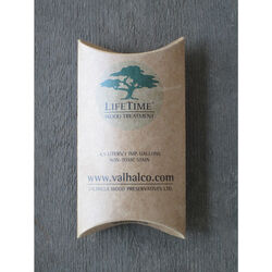 Valhalla Wood Preservatives Ltd.  LifeTime Wood Treatment  Medium brown to grey patina  Water-Based