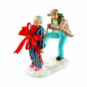 Department 56  Christmas Vacation Present for Clark  Village Accessory  Multicolored  Porcelain  1 e