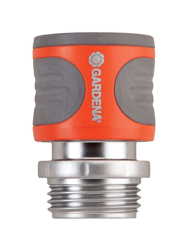Gardena 3/4 in. Metal Threaded Male/Female Hose Connector