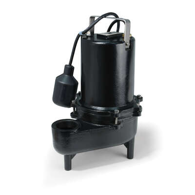 Eco-Flo  1/2 hp 7800 gph Cast Iron  Sewage Pump