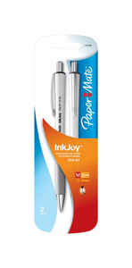 Papermate  Inkjoy 700RT  Black  Retractable Ball Point Pen  2 pk