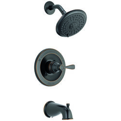 Delta  Monitor  Porter  1-Handle  Oil Rubbed  Tub and Shower Faucet