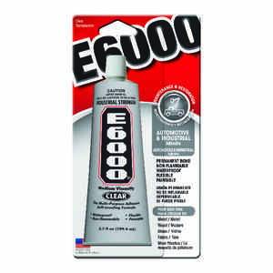 E-6000  High Strength  Gel  Automotive and Industrial Adhesive  3.7 oz.