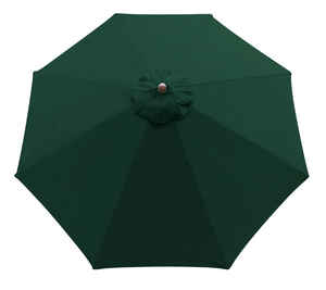 Sunline  9 ft. Hunter Green  Market Umbrella