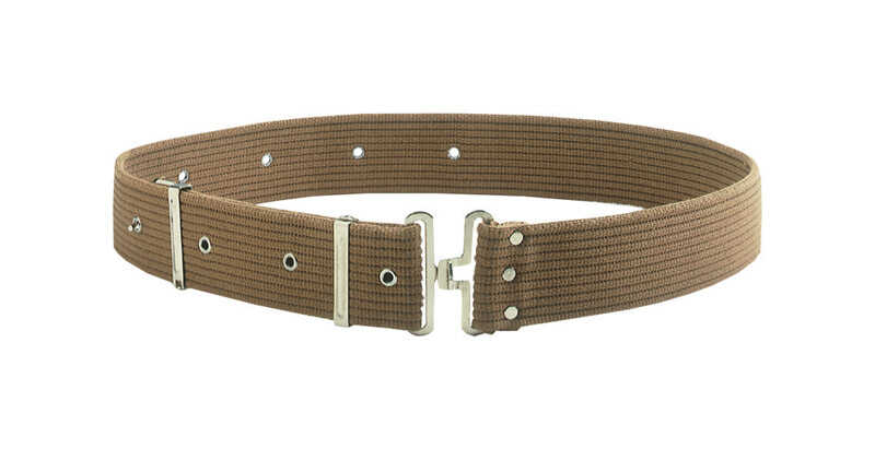 CLC  Cotton  Work Belt  2.5 in. L x 10.25 in. H Brown  29  46