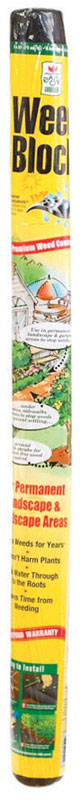 Easy Gardener  Weed Block  3 ft. W x 25 ft. L Landscape Fabric