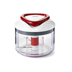 Zyliss  25 oz. Red  Plastic  Manual Food Processor
