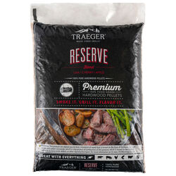 Traeger Reserve Apple/Cherry/Oak Blend Wood Pellet Fuel 20 lb.