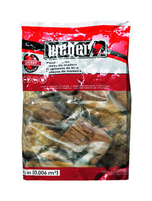 Weber Firespice Cherry Wood Smoking Chunks 350 cu. in.