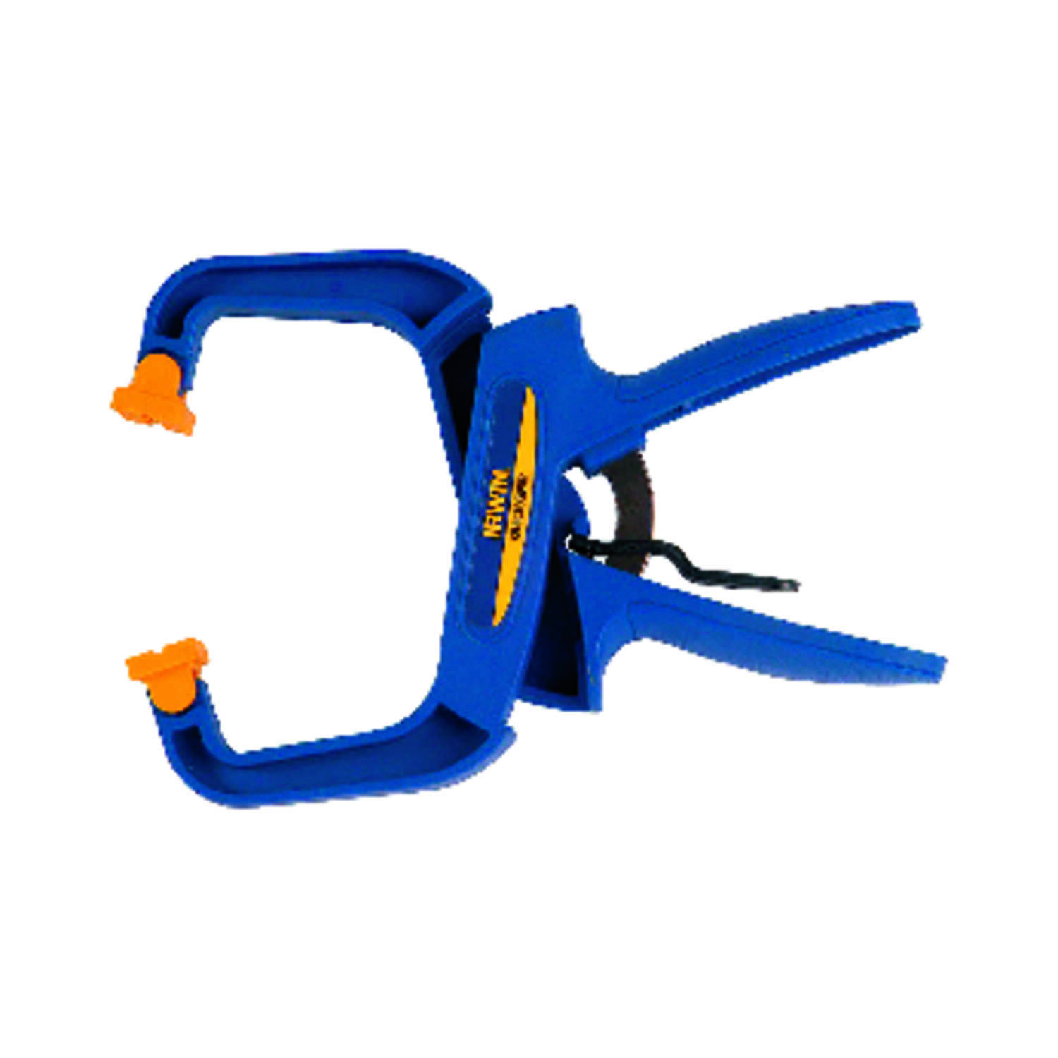 Irwin  Quick-Grip  4 in.  x 3 in. D Resin  Locking  Handi-Clamp  60 lb. capacity Blue  1 pc.