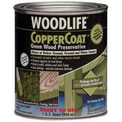 Wolman Woodlife Green Water-Based Wood Preservative 1 qt.
