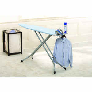 Homz  40.5 in. H Steel  Ironing Board  Pad Included