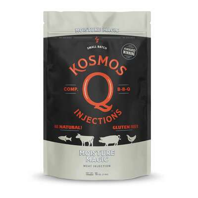 Kosmos Q Moisture Magic Injection BBQ Phosphates Marinade Mix 16 oz.