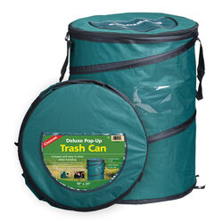 Coghlan's  Deluxe Pop-Up  Green  Trash Can  24 in. H x 19 in. W x 19.000 in. L 1 pk