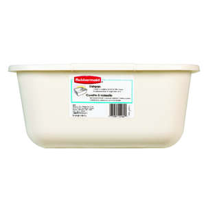 Rubbermaid  12.6 in. W x 14.5 in. L Dishpan