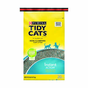 Tidy Cats  conventional litter  Fresh and Clean Scent Cat Litter  20 lb.