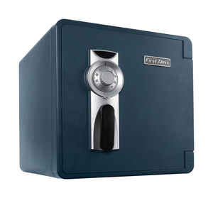 First Alert  1.3 cu. ft. Combination Lock  Gray  Fireproof Safe