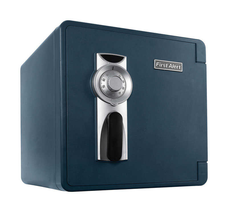 First Alert  1.3 cu. ft. Combination Lock  Gray  Fire-Proof Safe