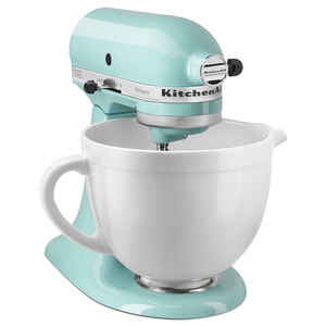 KitchenAid  Artisan  Aqua Sky  10 Speeds speed Stand  Mixer