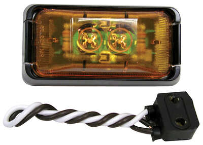 Peterson  Amber  Rectangular  Clearance/Side Marker  Light Kit